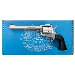 Freedom Arms  Premier Grade  Model 83 Single Action Revolver in 500 Wyoming Express with Box and Pap