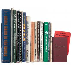 Grouping of Mostly Colt Related Firearms Books
