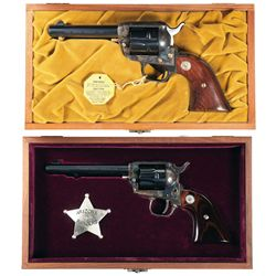 Two Cased Colt Commemorative Revolvers