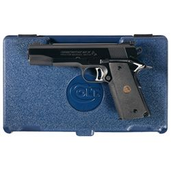 Colt MK IV Series 80 Gold Cup National Match Semi-Automatic Pistol with Case