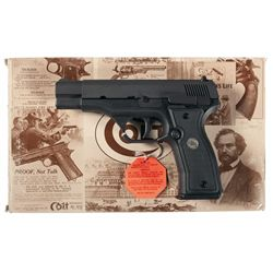 Colt All American Model 2000 Semi-Automatic Pistol with Box and Case