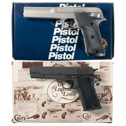 Two Boxed Semi-Automatic Pistols