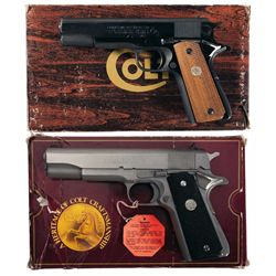 Two Boxed Colt 1911 Semi-Automatic Pistols