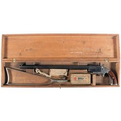 Frank Wesson Pocket Rifle with Matching Stock and Case