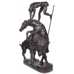 "Frederic Remington's ""The Buffalo Horse"""