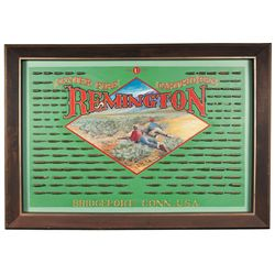 Beautiful Reproduction Remington Cartridge Board Done by Artist Robert Auth