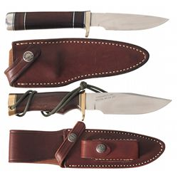 Two Randall Outdoor Knives with Sheaths