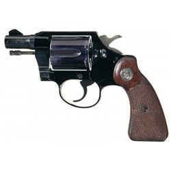 "U.S.A.F. Style Colt ""Aircrewmans"" Service Revolver with Original Aluminum Cylinder"