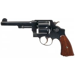 Excellent WWI U.S. Smith & Wesson Model 1917 Double Action Revolver