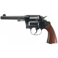 Excellent WWI U.S. Colt Model 1917 Double Action Revolver