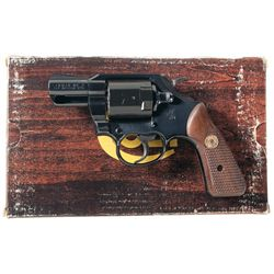 Extremely Intriguing Rare Prototype Colt Lawman Mark V Air Marshal Double Action Revolver with Plast