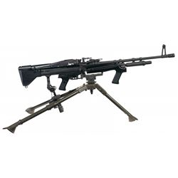 Complete Springfield Armory SA-1 (M60 Style) Semi-Automatic Rifle Rig That Includes an M60E3 (Navy S