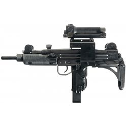 Original IMI Uzi Model A Semi-Automatic Carbine with Extra Magazines, Electric Sight and Accessories