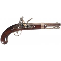 U.S. Model 1836 Johnson Flintlock Pistol