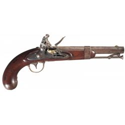 U.S. Model 1836 Waters Flintlock Pistol