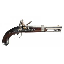 U.S. R. Johnson Model 1836 Flintlock Pistol
