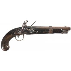 U.S. Evans Contract Model 1826 Naval Flintlock Pistol