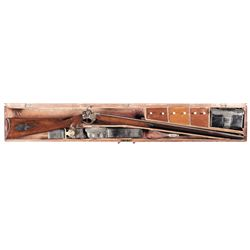 NRA Ten Best Weapon Award Winning Rare, Cased Sharps Pistol-Rifle with Accessories and Military Belt