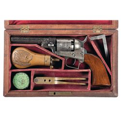 Outstanding Cased Colt Baby Dragoon Revolver