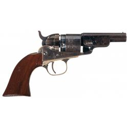 Colt Model 1862 Pocket Navy Cartridge Conversion Revolver with Scarce Three-Inch Barrel
