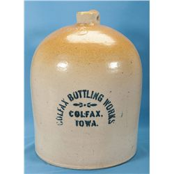 Impressive 5 Gallon Colfax Bottling Works Beehive Jug
