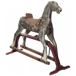Antique Childs Rocking Horse