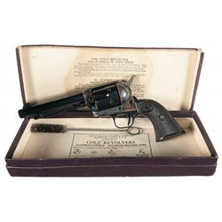 Exceptional Documented Final Production Pre-War - Post-War Colt Single Action Army Revolver with Ori