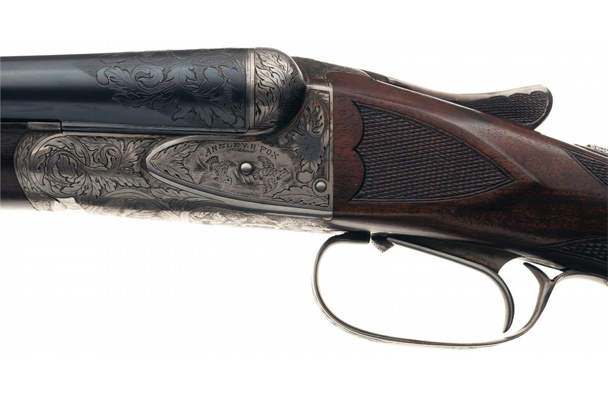 ... Image 2 : A.H. Fox XE Grade Double Barrel 20 gauge Shotgun ...