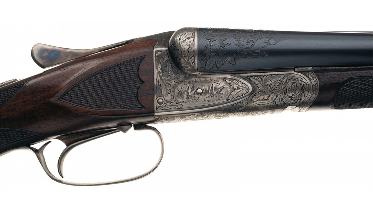 ... Image 3 : A.H. Fox XE Grade Double Barrel 20 gauge Shotgun ...