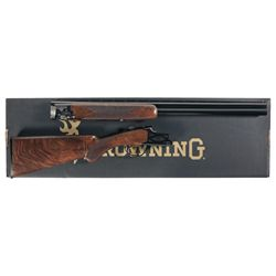 Engraved Browning Citori Gran Lightning Over/Under Shotgun with Factory Box