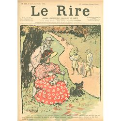 Maurice Radiguet, Le Rire, No. 103, 10 Page Newsprint Magazine
