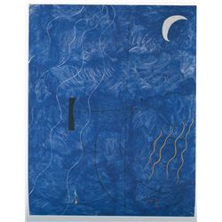Bather - Miro - Limited Edition on Canvas
