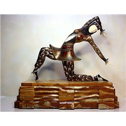 Kamorna - Bronze and Ivory Sculpture by Chiparus