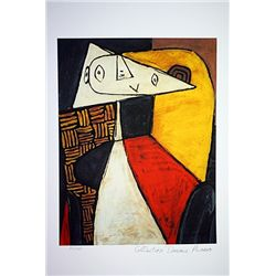 Picasso Limited Edition - Seated Woman - from Collection Domaine Picasso