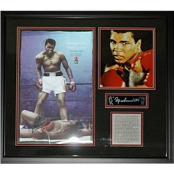 Mohamed Ali  Small Hologram