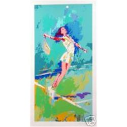 Leroy Neiman Signed Limited Edition Serigraph - Sweet Serve