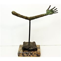 Alberto Giacometti  Original, limited Edition  Bronze -THE HAND