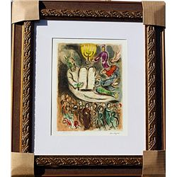 Ten Commandments  - Chagall - Limited Edition