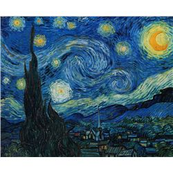 The Starry Night- Van Gogh - Limited Edition on Canvas