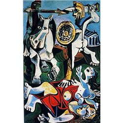 Limited Edition Picasso - The Abduction Of The Sabine Women - Collection Domaine Picasso