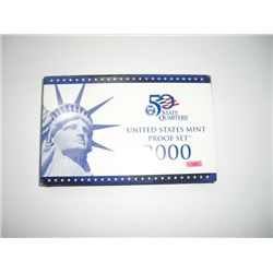 2000-S U.S. PROOF SET *10 PIECE SET* in Original Mint Package!!