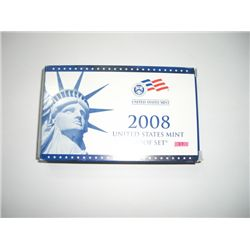 2008-S U.S. PROOF SET COMPLETE with PRESIDENTIAL SET *14 PIECE SET* in Original Mint Package!!