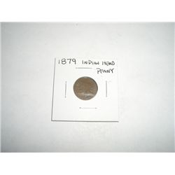 1879 Indian Head Penny - NICE COIN *PLEASE LOOK AT PICTURE  TO DETERMINE GRADE*!!