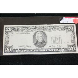 1990 US Federal Reserve Note $20; Error Note  **CeCe's Premium Special 10% Buyer's Premium-This Lot