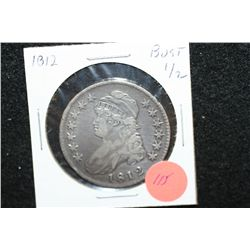 1812 Liberty Bust Half Dollar