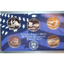 2005-S US Mint State Quarter Proof Set