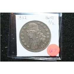 1832 Liberty Bust Half Dollar
