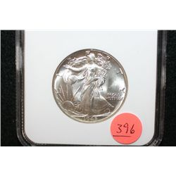 1945 Walking Liberty Half Dollar, NGC Graded MS64