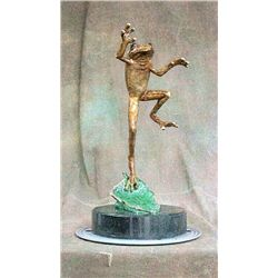 Bronze Sculpture - On The Fly by W. Whitten