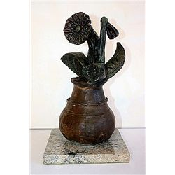 Pablo Picasso Original Original, limited Edition Bronze - Flowers
